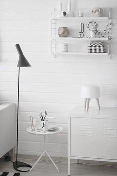 How to style your home like a pro - 10 on trend must haves to create the wow factor (Part 1) | Black and white | String shelving | Milk lamp | IKEA | IKEA PS | The Little Design Corner