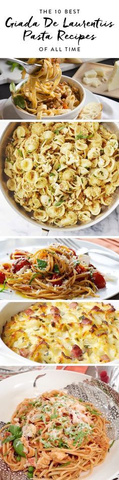 As our go-to guru for Italian cuisine, Giada De Laurentiis knows a thing or two about our favorite food group: pasta. From creamy lobster sauce to lemony pesto, these ten best Giada recipes give us some of the most tasteful noodles around.