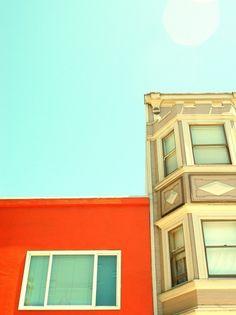orangeade and beach glass color combo LOVE.  photo by sfgirlbybay
