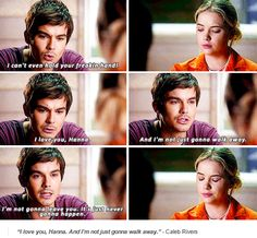 PLL 5x24 She is so lucky. I want him. I want something like this, just without the A drama.
