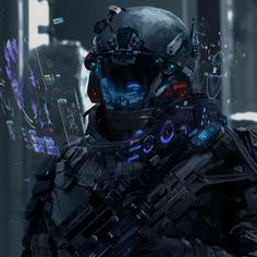 Psychotic Star Citizen Andromeda - Futuristic Soldiers and Robots - Militar Cyberpunk Kunst, Mode Cyberpunk, Cyberpunk 2077, Fantasy Character, Sci Fi Fantasy, Character Art, Character Profile, Character Concept, Futuristic Armour
