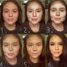 Its like you can never trust a woman's face! This is amazing!