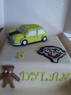 Mr Bean cake Source by citratita Mr Bean Birthday, Summer Birthday, 4th Birthday, Birthday Parties, Birthday Cakes, Mr Bean Cake, Bean Cakes, Cupcake Cakes, Cupcakes