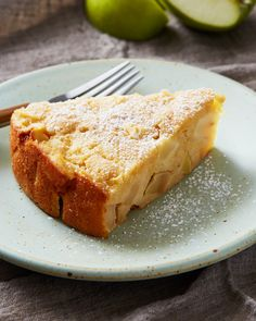 French Apple Cake Is the Perfect Fall Dessert This fast and fancy dessert is the ultimate crowd-pleaser.This fast and fancy dessert is the ultimate crowd-pleaser. Mini Desserts, Apple Desserts, Apple Recipes, Dessert Recipes, Apple Cakes, Autumn Desserts, Coconut Desserts, Plated Desserts, Cupcake Recipes