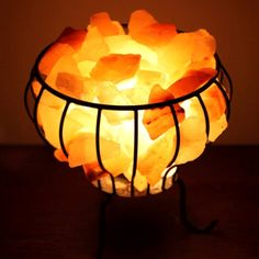Order Metal Basket Himalayan Salt Lamps [Fire Cage in {categories}] at Alcyon Store,. A small hand carved organic shaped salt lamp, suitable for use within a home office or on workstation Himalayan Salt Lamp, Metal Baskets, Cage, Hand Carved, Table Lamp, Carving, Lamps, Facebook, Lightbulbs