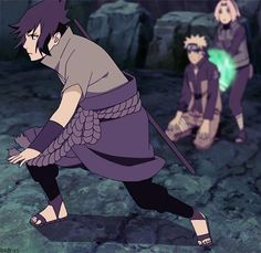 sasuke enters the battlefield
