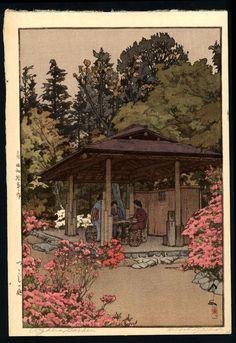 hanga gallery . . . torii gallery: Item Detail  Hiroshi Yoshida