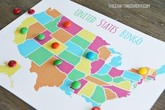 United States Bingo I'm excited to be here today sharing an adorable game idea to help your little ones learn about the United States of America. I love the lazy mornings, and easy going days of summertime.  But, it's not too fun when the boredom steps in!  We've been following along with our Mother Hen …