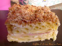 Pasta al gratin,ricetta delicata