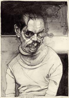 Steve Buscemi - Original Drawing