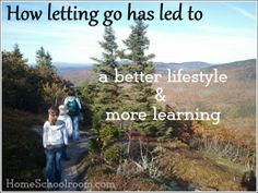 Letting Go in Homeschooling...a home school mom's success story.