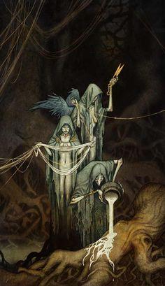 Norse Gods by Johan Egerkrans - Imgur