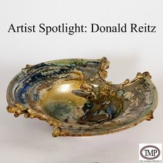 Artist Spotlight: Donald Reitz Don Reitz is best known for his sculptural pieces that grew out of his wheel-thrown functional work that is characterized by symmetry and simple lines.  #Ceramics #Pottery #HandBuilt #DonaldReitz