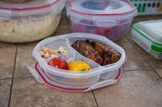 Perfect storage for your Memorial Day leftovers. Mmmm! I'm hungry just looking at it!