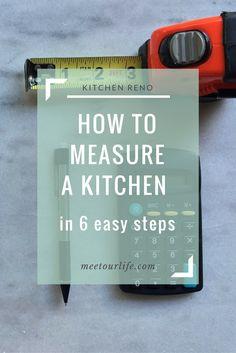 Kitchen   kitchen design   kitchen ideas  helpful tips on how to measure your kitchen