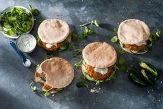 Kijk wat een lekker recept ik heb gevonden op Allerhande! Vegetarische zoete-aardappelburger