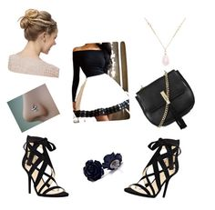 """""""Untitled #27"""" by tori-hansford on Polyvore featuring Nine West, Topshop and White House Black Market"""