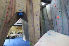Come check out the HUGE new gym and all its great features! - Upper Limits Indoor Rock Gym & Pro Shop