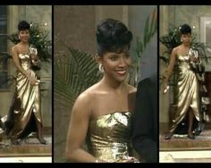 """Phylicia Rashad as Clair Huxtable wearing statement earrings on """"The Cosby Show"""" Timeless Beauty, Classic Beauty, Black Beauty, Classic Style, Black Girls Rock, Black Girl Magic, My Black Is Beautiful, Beautiful People, Beautiful Women"""