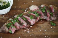 Wagyu Sirloin Steak with Chimichurri Sauce from Fine Food Specialist