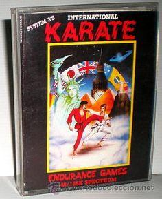 International Karate [System 3] [1985] Endurance Games [ZX SPECTRUM]