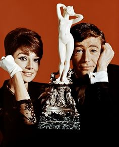 Audrey Hepburn and Peter O'Toole in How to Steal a Million!