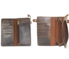 Enough card slots? - Genuine Leather Wallet