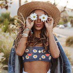 Hippie Chic, Boho Chic, Style Boho, Hippie Gypsy, Hippie Lifestyle, Boho Aesthetic, Boho Life, Boho Tops, Boho Outfits