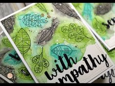 Prairie Paper & Ink: MFT Geometric Greenery | Gansai Tambi Watercolor | Color Throwdown #414