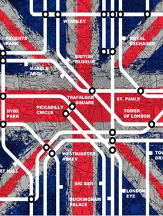 London Tube Stations Wallpaper