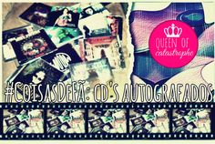 #RainhaDaCatástrofe: #Coisasdefã: CD's autografados