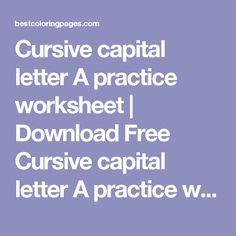 Reading A Metric Ruler Worksheet Word Kids Letter Z In Cursive Handwriting Worksheet  Charts  Percentages Worksheets Year 7 Excel with Kidzone Phonics Worksheets Excel Cursive Capital Letter A Practice Worksheet  Download Free Cursive Capital  Letter A Practice Worksheet For Scarcity Worksheet Excel
