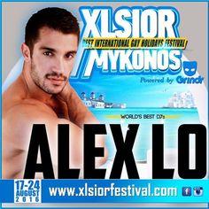 XLSIOR MYKONOS 2016 PODCAST ( ALEX LO ) by XLSIOR FESTIVAL on SoundCloud