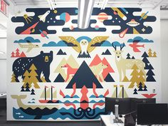 TextNow Mural