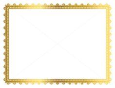 Decorative Frame, Page Border, Digital Frame, Border Paper ...