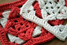 Crochet Knitting Handicraft: Crochet motif...picture tutorial for free...