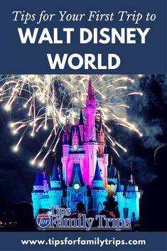 Tips for planning your first trip to Walt Disney World in Orlando, Florida | tipsforfamilytrips.com | family travel | vacation ideas