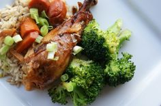 Crock Pot Asian Chicken with Broccoli and Veggies