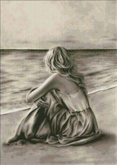 Ein Kunstdruck Glossy Emo Traditional Girl am Strand Ocean Zindy Nielsen - # City Poster, Flash Tattoo, Whale Art, Cat Art Print, Earth Design, Boy Tattoos, Pallet Painting, First Art, Bird Prints