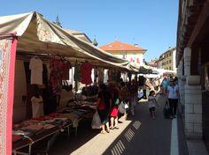 #mercato tradizionale per le vie dell'#altopiano di #Folgaria #Lavarone #Luserna