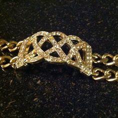 Nwot Crystal Statement Bracelet