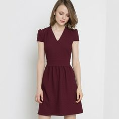 0778056749 Mademoiselle R Jacquard Dress Red Size UK 14 rrp 45 DH078 CC 12  fashion   clothing  shoes  accessories  womensclothing  dresses (ebay link)