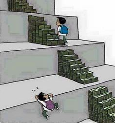 The privileged vs. The poor