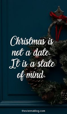 Christmas is a state of mind!