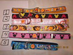 Children's Belts Disney characters