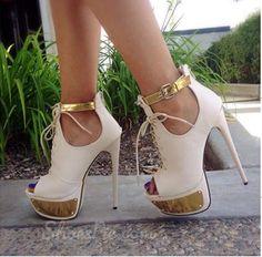 New Arrival Contrast Colour Suede Platform Sandals