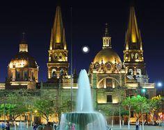 Guadalajara. Jalisco Mèxico, La Catedral...