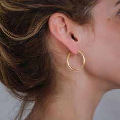 Σκουλαρίκια Hollow Extra Small|3rd Floor Χειροποίητα Κοσμήματα Small Earrings, Silver Earrings, Drop Earrings, Handmade Jewelry, Floor, Jewels, Jewellery, Accessories, Women