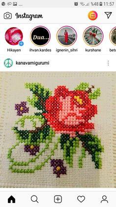 Cross Stitch Cards, Cross Stitch Flowers, Cross Stitching, Ribbon Embroidery, Cross Stitch Embroidery, Cross Stitch Patterns, Needlepoint Stitches, Needlework, Pixel Crochet