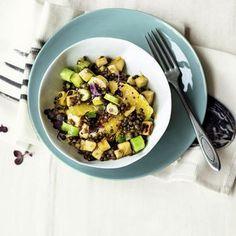 Pastinaken-Linsen-Salat Rezept | Küchengötter